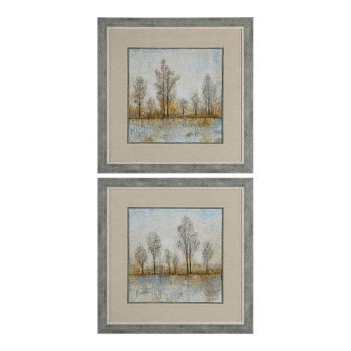 Uttermost Quiet Nature Landscape Prints, Set of Two