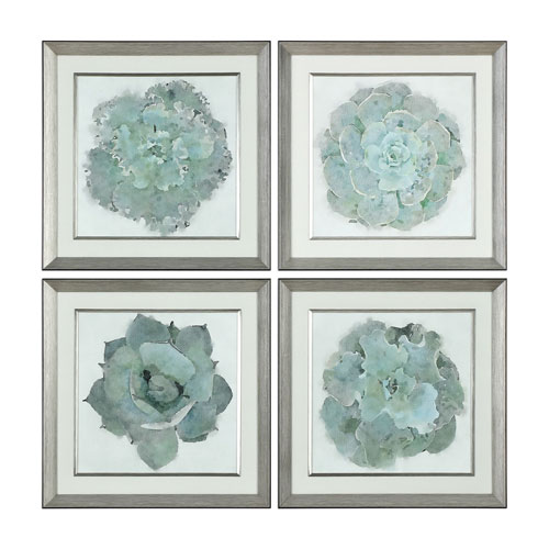 Natural Beauties Botanical Prints, Set of Four