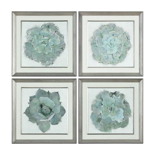 Natural Beauties Botanical Prints, Set of Four