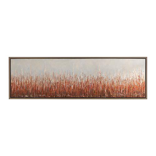 Burning Fields Abstract Art