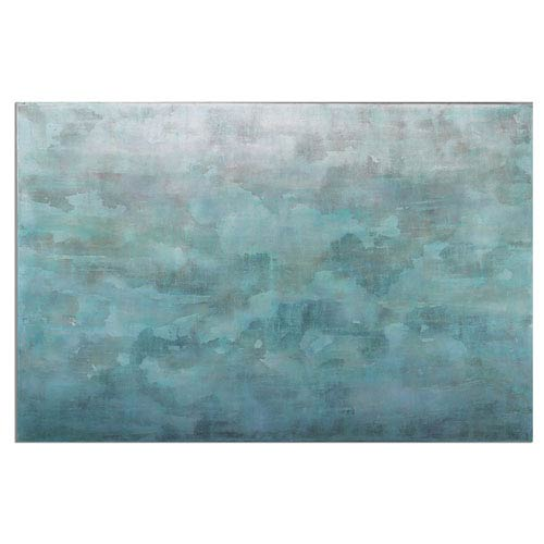 Uttermost Frosted Landscape By Grace Feyock 60 X 40 Inch Modern Wall Art