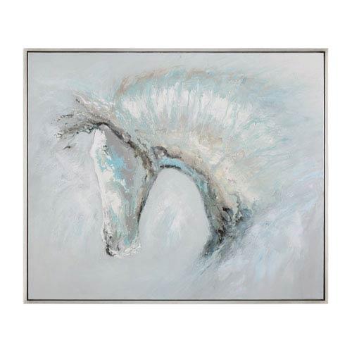 Uttermost Ice Illusion Horse Art