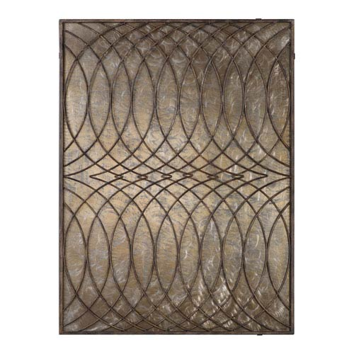 Kanza Antique Bronze Wall Panel