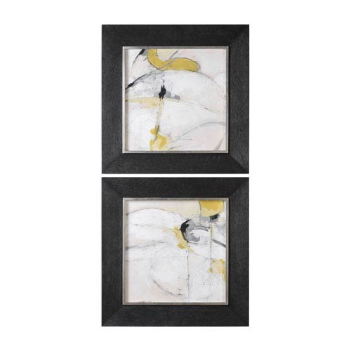 Uttermost Trajectory Modern Abstract Wall Art, Set Of 2 41560 | Bellacor