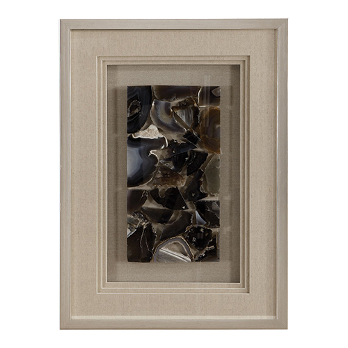 Seana Agate Stone Shadow Box