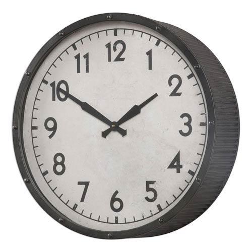 Berta Aged Black Clock