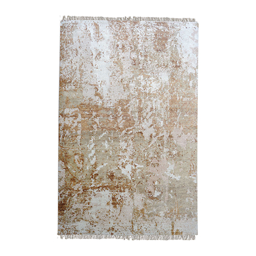 Abera Beige, Rust and Gray Rectangular: 6 Ft. x 9 Ft. Rug