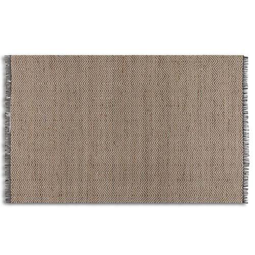 Uttermost Nalanda Chenille and Jute 5 Ft. x 8 Ft. Hand Woven Rug