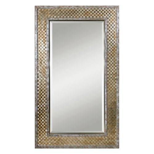 Mondego Brushed Nickel Mirror