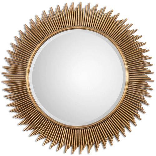 Uttermost Marlo Gold Round Mirror