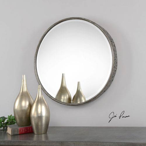 Nova Burnished Gray Mirror