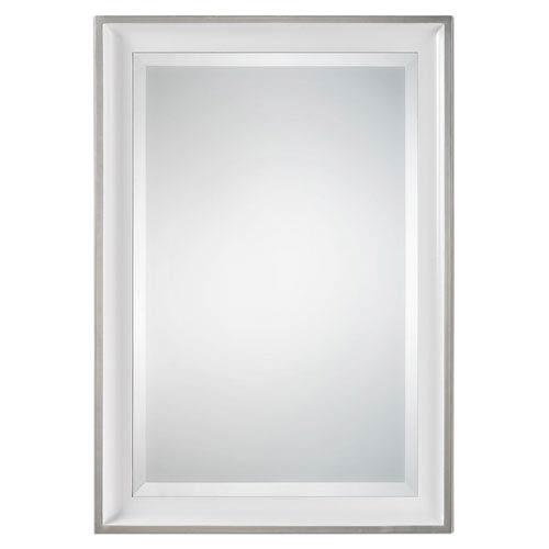 Lahvahn Gloss White Mirror