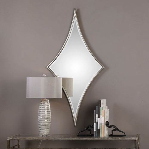 Uttermost Barwell Forged Metal With Oxidized Plated Silver