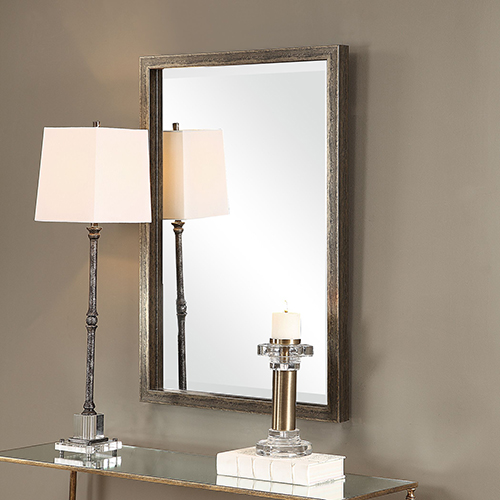 Aburay Tarnished Silver Mirror