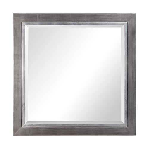 Uttermost Moore Silver Square Mirror