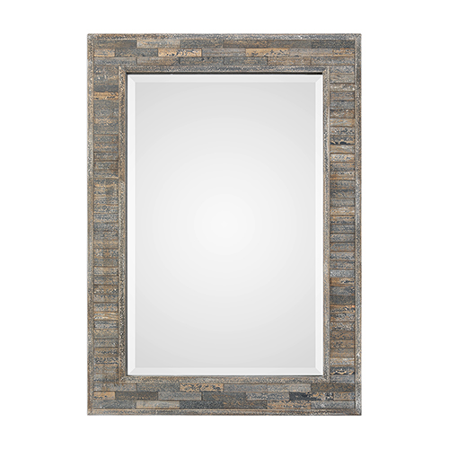 251 First River Station Charcoal Blue Mirror