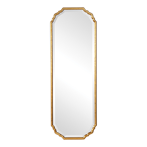251 First Selby Gold Leaf Mirror W00433 Bellacor