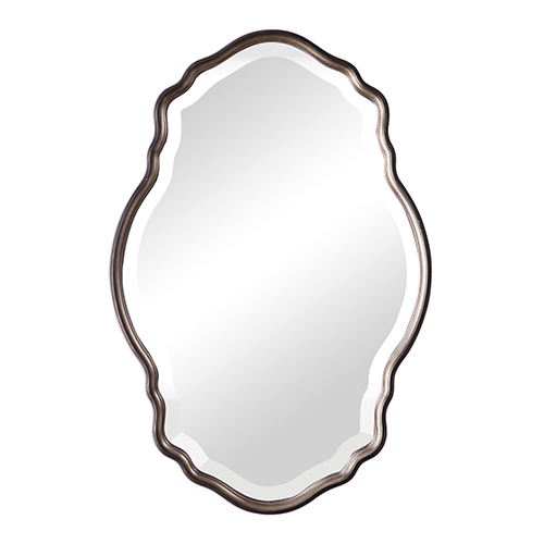 251 First Evelyn Silver Champagne and Dark Bronze Mirror