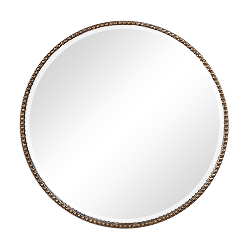 251 First Wellington Antique Gold Mirror