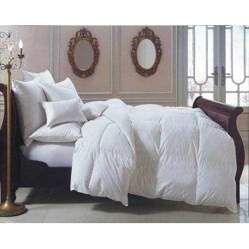 Downright Bernina White Bolster 6x14 5oz Pillow