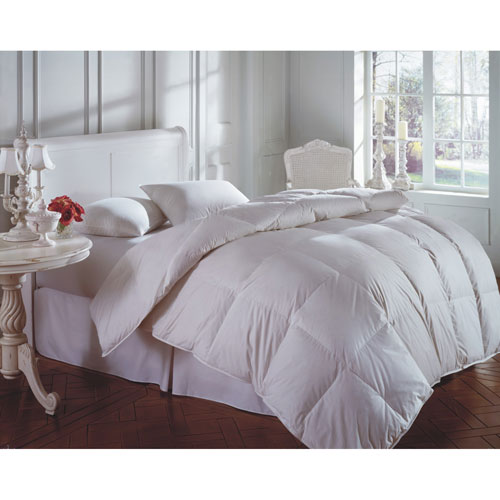 Cascada Peak White Winter 600+ Twin Down Comforter
