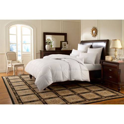 Downright Logana White Twin 68x86 25oz Comforter