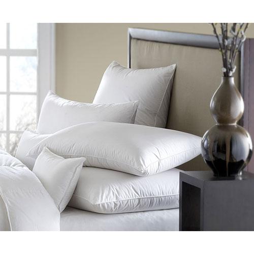 Mackenza White 560+ Medium Standard Down Pillow