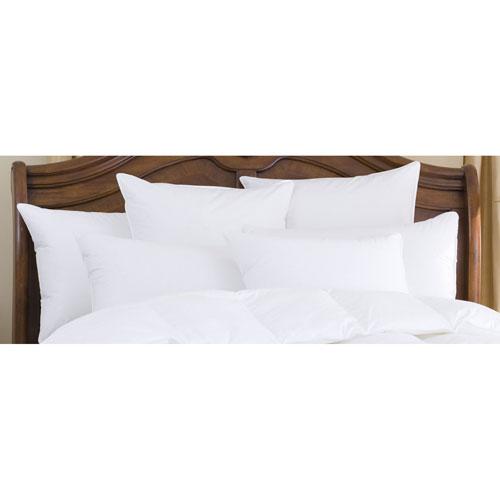 Nirvana White 700+ Polish Firm Standard Goose Down Pillow