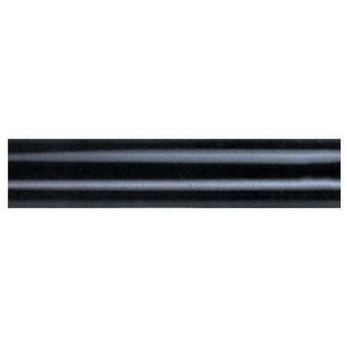 Black 12-Inch Ceiling Fan Downrod Extension