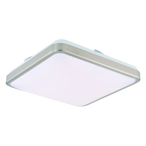 Vaxcel Aries Satin Nickel 14-Inch LED Flush Mount