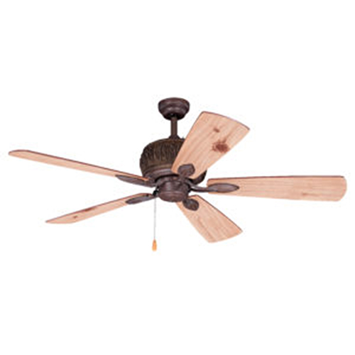 Alpine Weathered Patina 52-Inch Ceiling Fan