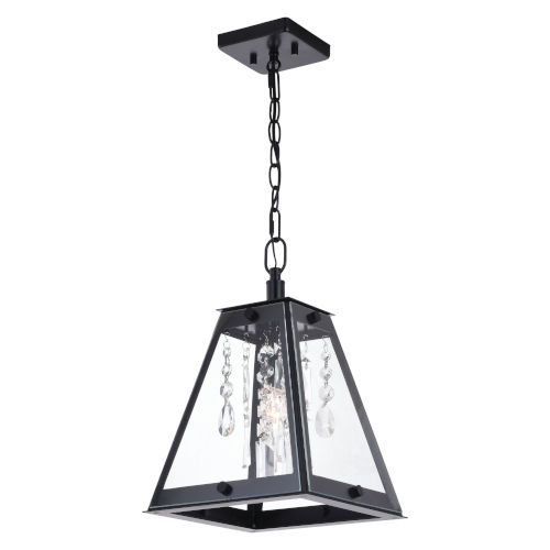Tremont Matte Black One-Light Mini Pendant