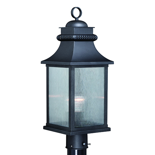 Cambridge Oil Rubbed Bronze One-Light Outdoor Post Mount