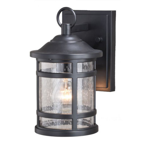 Southport Matte Black 6-Inch One-Light Outdoor Wall Mounted