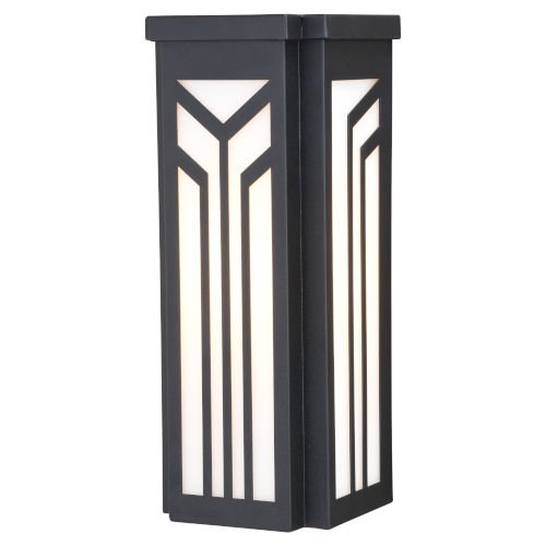 Evry Oil Rubbed Bronze Six-Inch One-Light Outdoor Wall Sconce