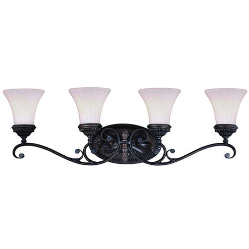 Avenant Venetian Bronze Four-Light Reversible Vanity Light