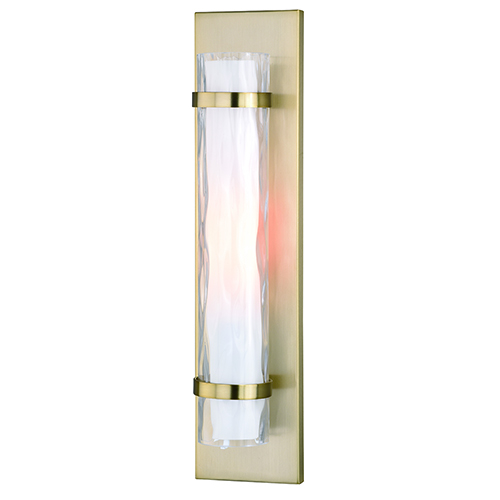 Vilo Golden Brass One-Light ADA Wall Sconce