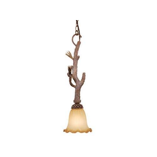 Aspen Pine Tree One-Light Mini Pendant