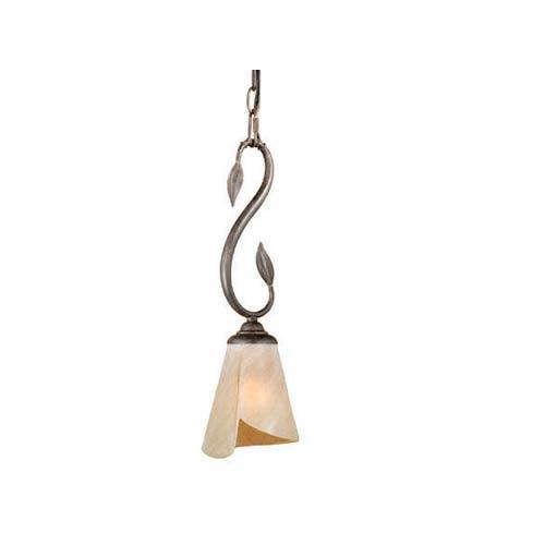 Capri Black Walnut One-Light Mini Pendant