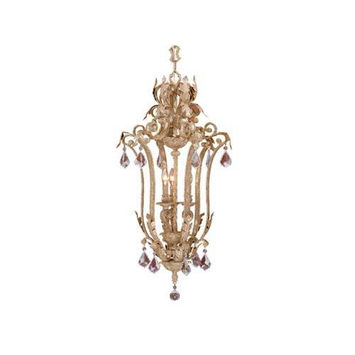 Empire Phoenician Platinum Three-Light Hanging Pendant