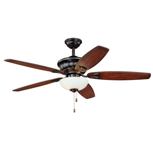 Vasari New Bronze Two-Light Ceiling Fan