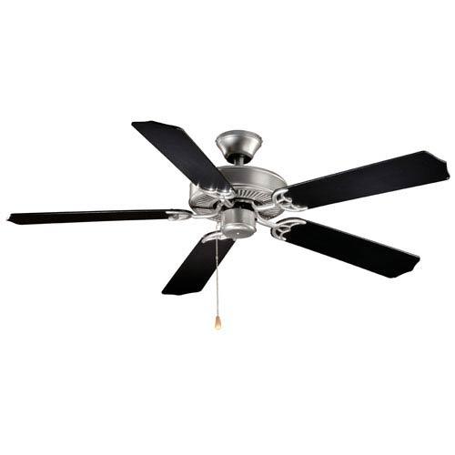 Vaxcel Medallion Flash Silver 52-Inch Energy Star Ceiling Fan