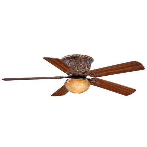Corazon Aged Bronze Two-Light 52-Inch Ceiling Fan