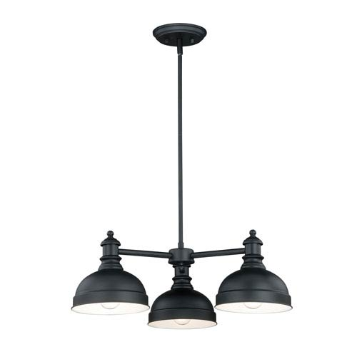 Keenan Oil Rubbed Bronze Three-Light Chandelier