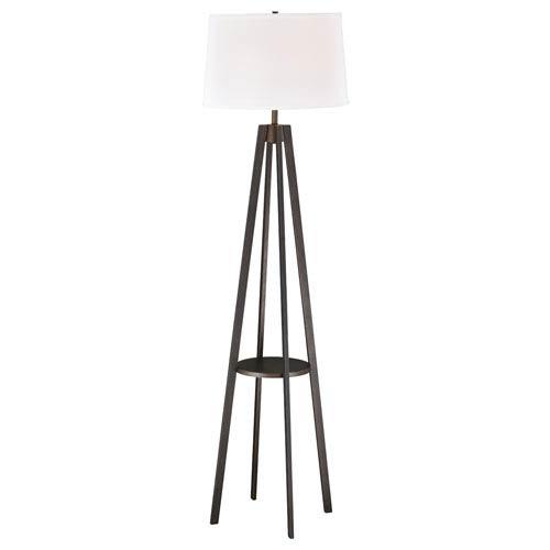 Perkins Siena Bronze One-Light Floor Lamp