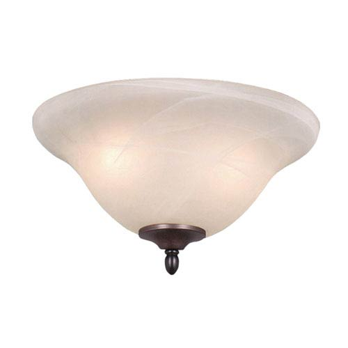 Vaxcel Transitional Two-Light 13-Inch Fan Light Kit