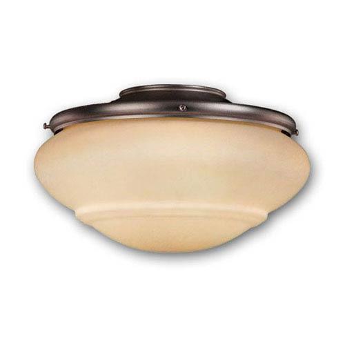 Vaxcel Noble Bronze Two-Light 12-Inch Light Kit