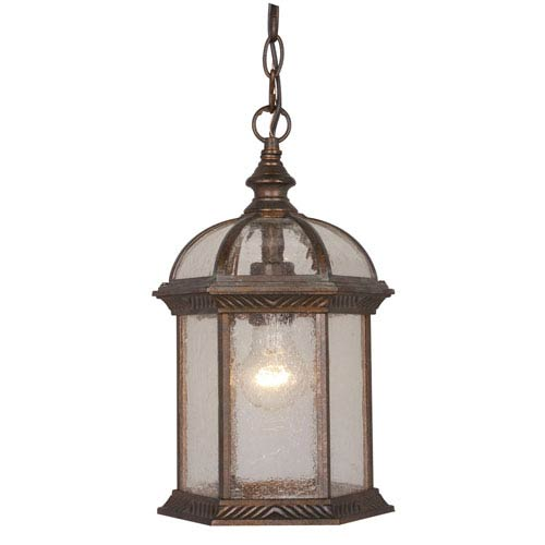 Chateau Royal Bronze 8-Inch Outdoor Pendant