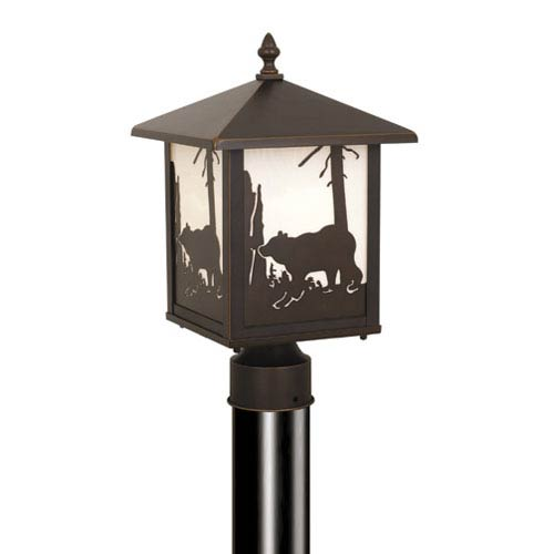 Bozeman Burnished Bronze Outdoor Post Light