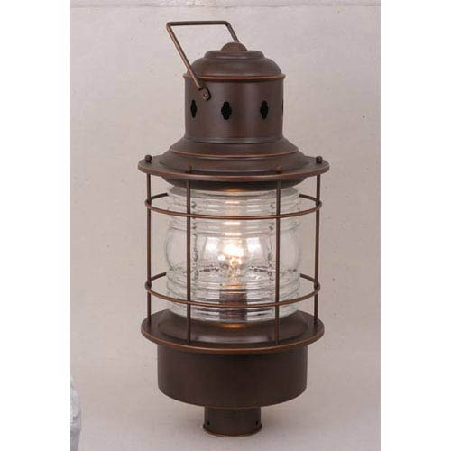 Vaxcel Nautical Burnished Bronze Outdoor Post Mounted Light